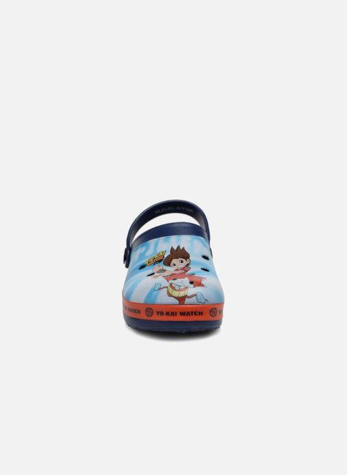 Sandales et nu-pieds Yo-Kai Watch  Diapason Bleu vue portées chaussures