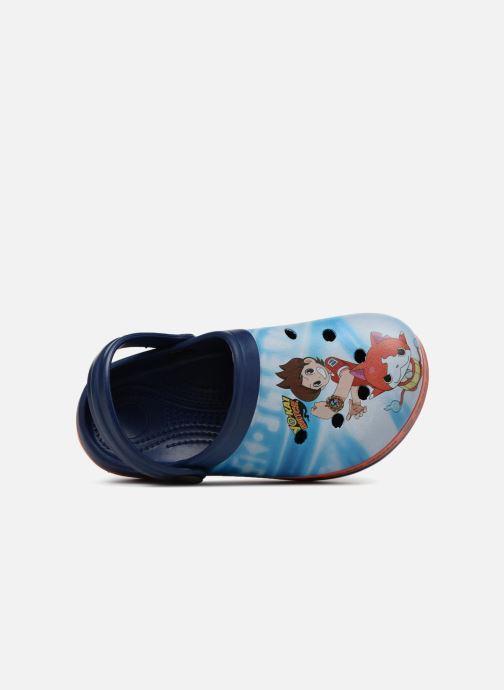 Sandales et nu-pieds Yo-Kai Watch  Diapason Bleu vue gauche