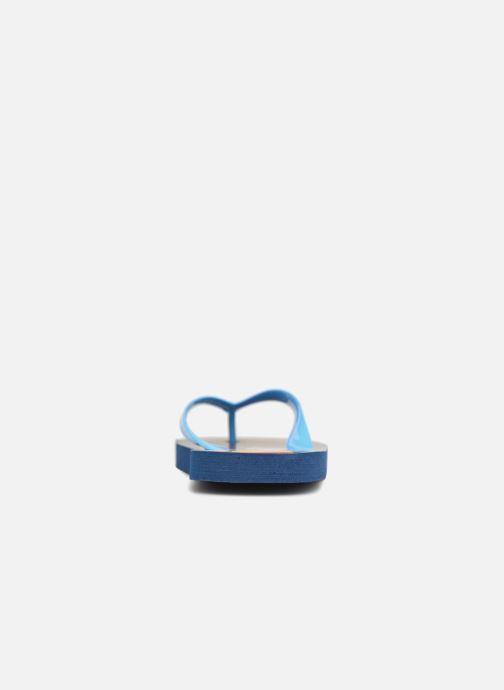Tongs Yo-Kai Watch  Diablito Bleu vue droite