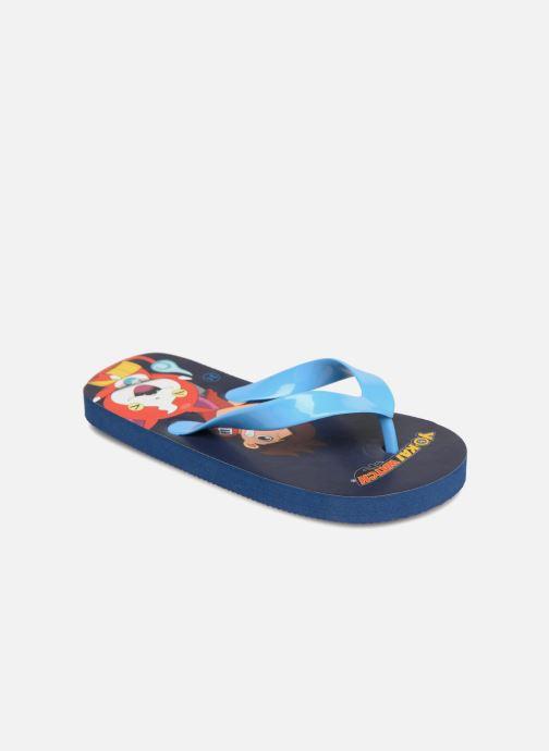 Tongs Yo-Kai Watch  Diablito Bleu vue détail/paire
