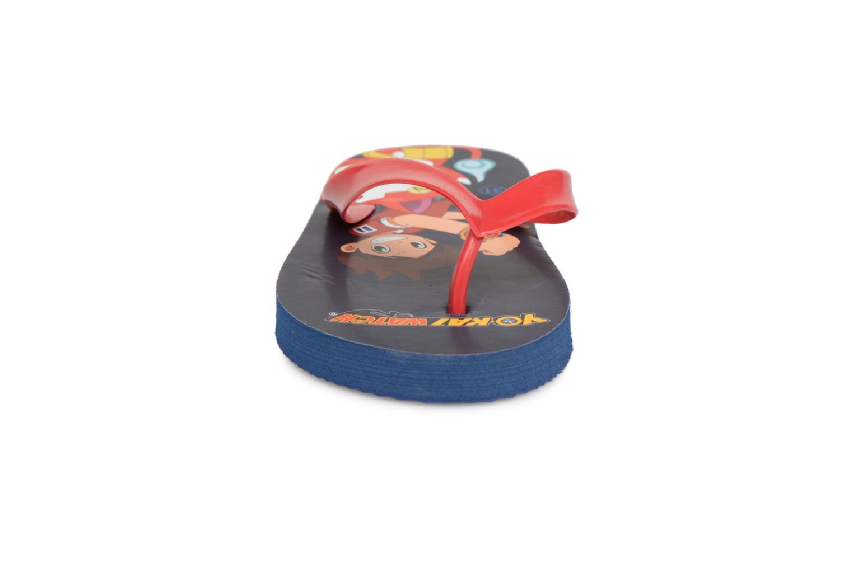 Tongs Yo-Kai Watch  Diablito Rouge vue portées chaussures