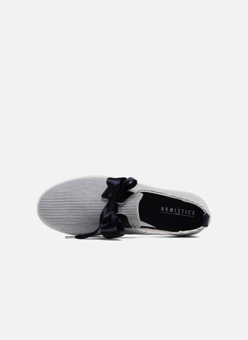 Sneaker Armistice Stone One Marina W blau ansicht von links