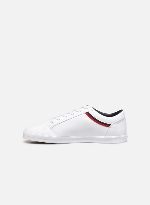 Baskets Fred Perry Baseline Canvas Blanc vue face