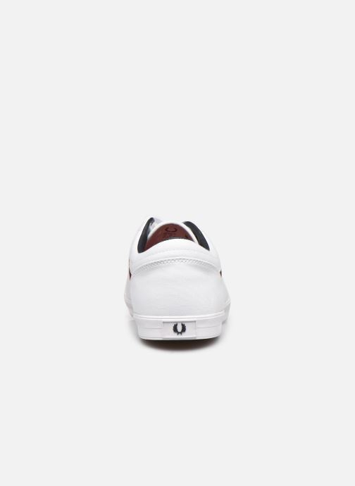 Baskets Fred Perry Baseline Canvas Blanc vue droite