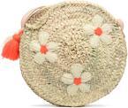 Handtassen Tassen Sac rond bandoulière + motif fleur