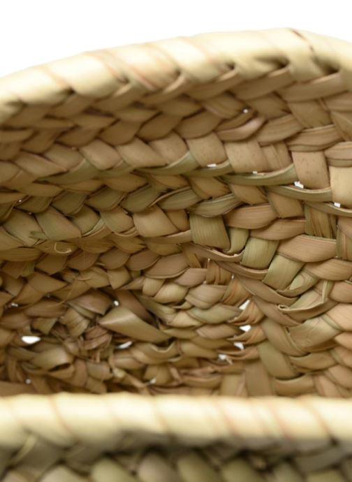 Handtaschen Etincelles Sac rond bandoulière + texte J'adore! noir beige ansicht von hinten