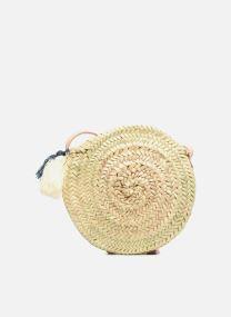 Handtaschen Taschen Panier rond bandoulière + Pompons