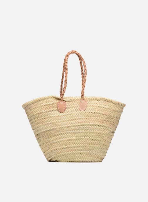 Handbags Etincelles Panier Flamant Rose Beige front view