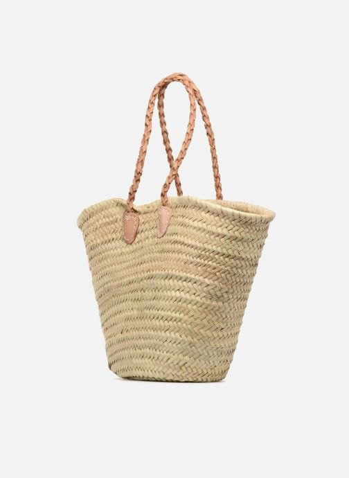 Handbags Etincelles Panier Flamant Rose Beige view from the right
