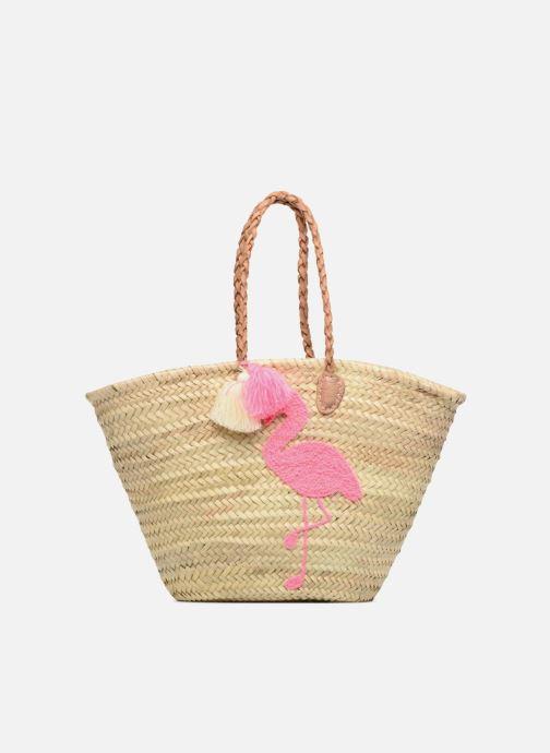 Handbags Etincelles Panier Flamant Rose Beige detailed view/ Pair view