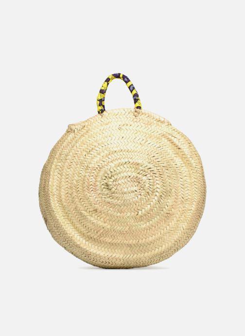 Handbags Etincelles Panier rond GM Wax Beige front view