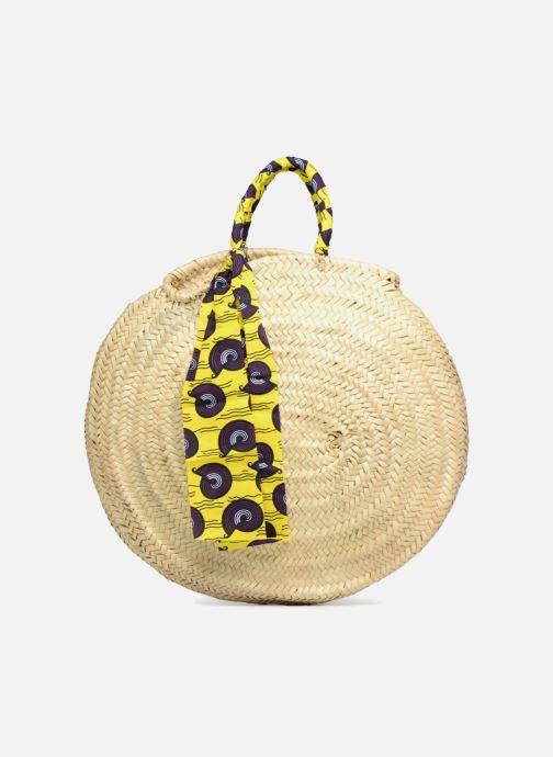 Handbags Etincelles Panier rond GM Wax Beige detailed view/ Pair view