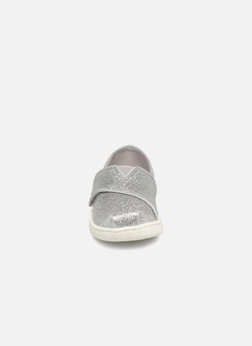 Espadrilles TOMS Alpargata E SW Ewok Print Argent vue portées chaussures