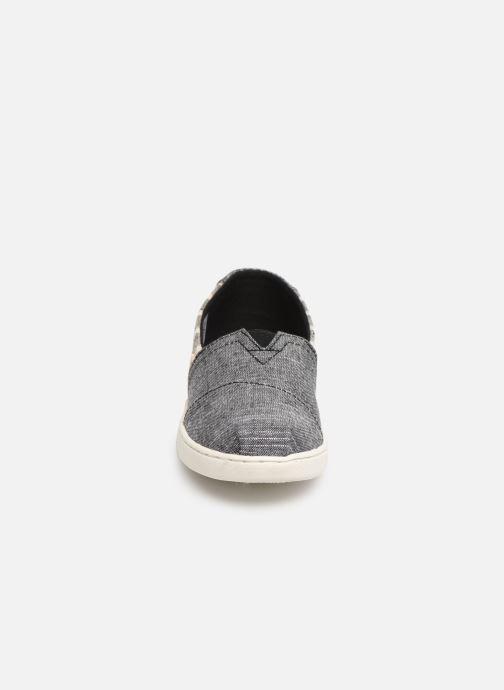 Espadrilles TOMS Alpargata E SW Ewok Print Gris vue portées chaussures