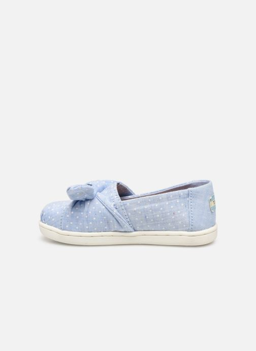 Sneakers TOMS Alpargata Kids Blauw voorkant