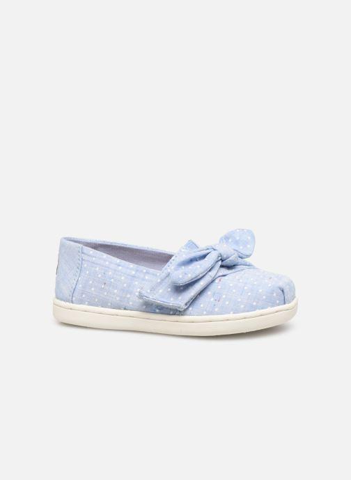 Sneakers TOMS Alpargata Kids Blauw achterkant