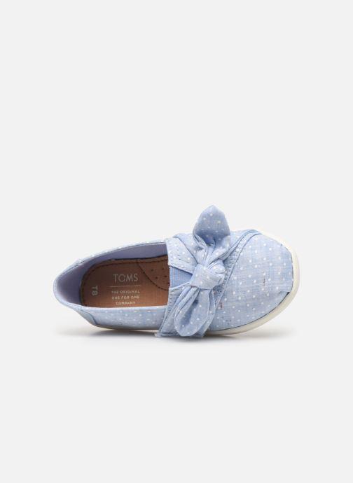 Sneakers TOMS Alpargata Kids Blauw links