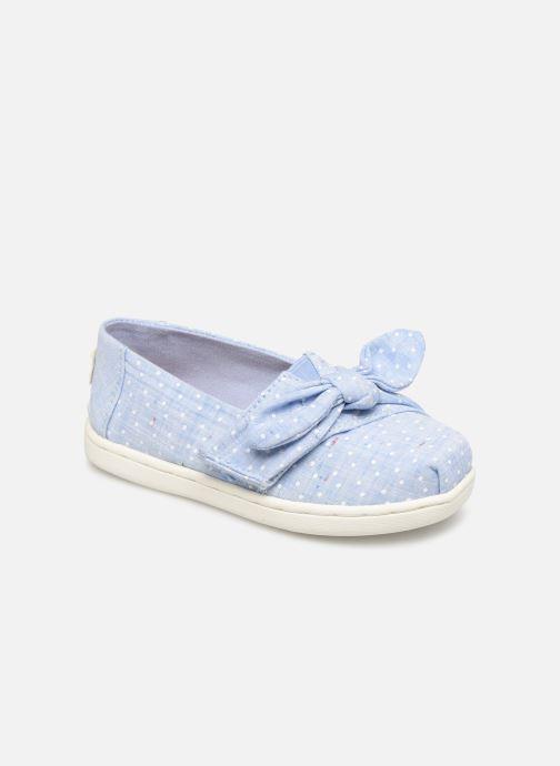 Sneakers TOMS Alpargata Kids Blauw detail