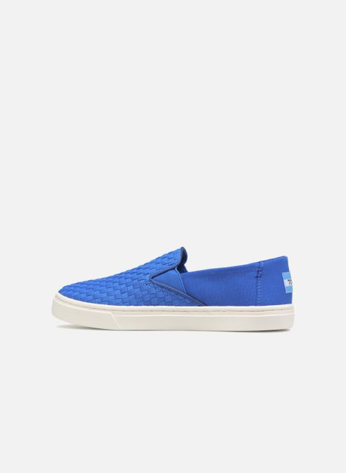 Baskets TOMS Luca Bleu vue face