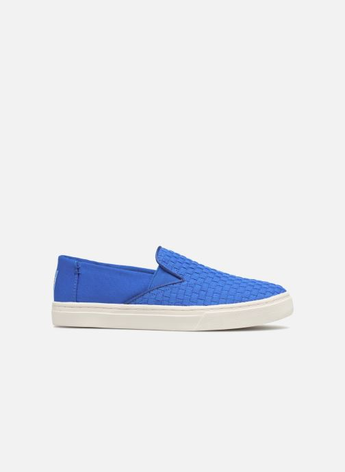 Trainers TOMS Luca Blue back view