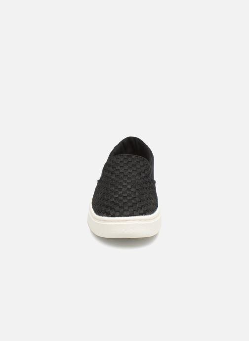 Baskets TOMS Luca Noir vue portées chaussures