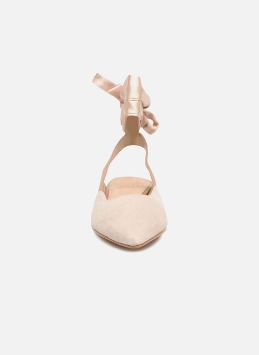 Ballerines What For Adela Beige vue portées chaussures