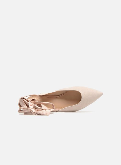Ballerines What For Adela Beige vue gauche