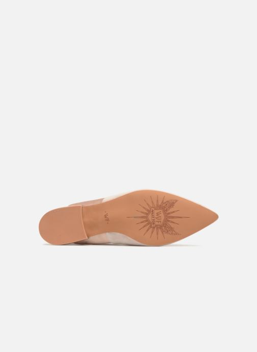 Ballerines What For Adela Beige vue haut