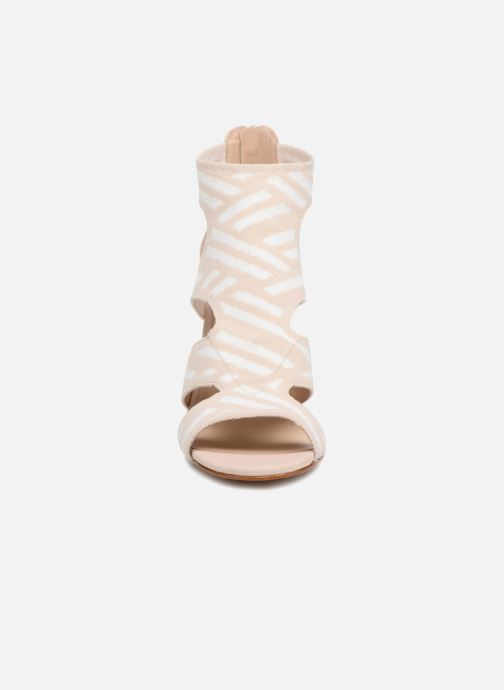 Sandals What For Effy Beige model view