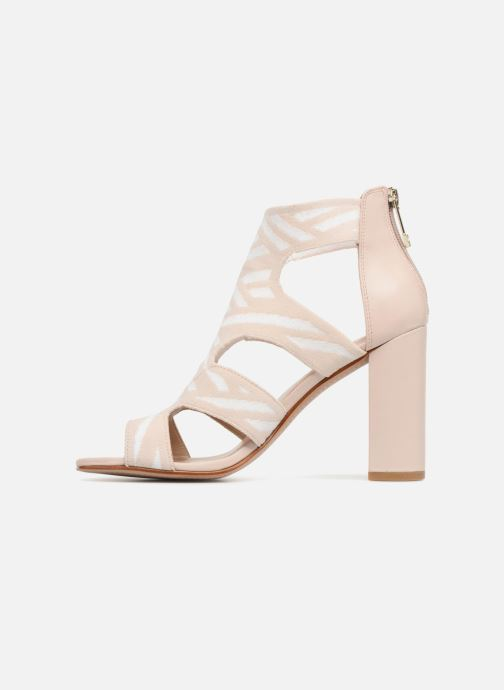 Sandals What For Effy Beige front view