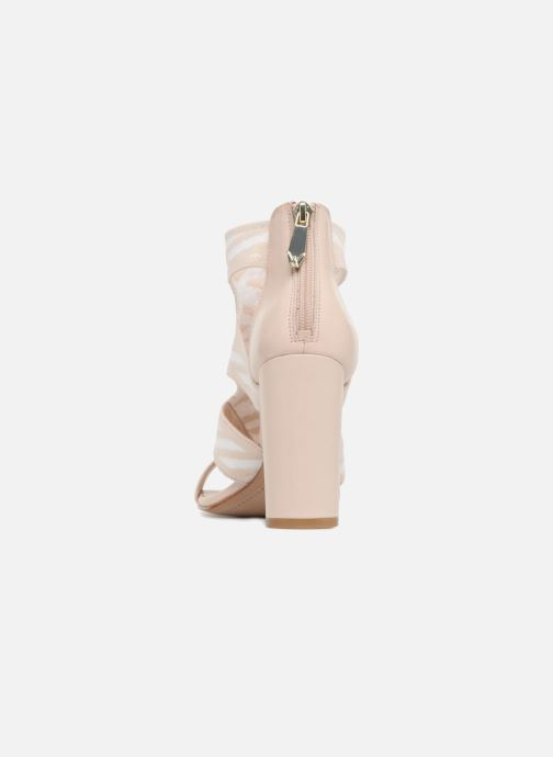 Sandales et nu-pieds What For Effy Beige vue droite