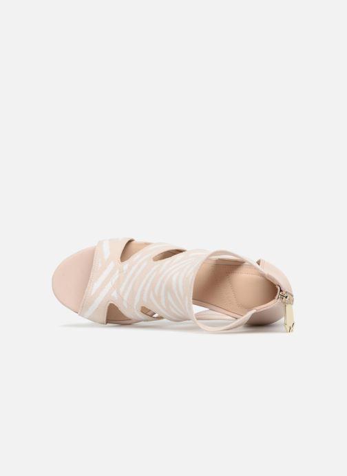 Sandales et nu-pieds What For Effy Beige vue gauche