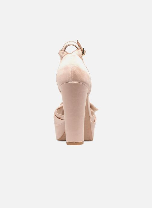 High heels What For Danae Beige view from the right