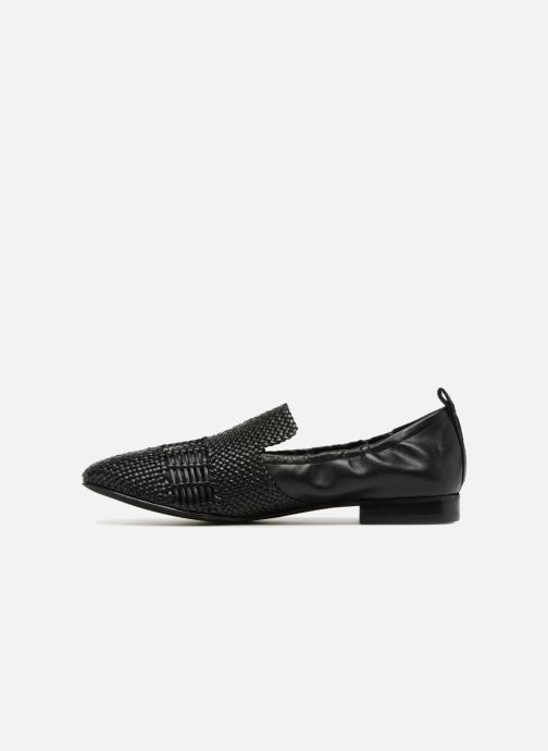 Loafers What For Gabin Black front view
