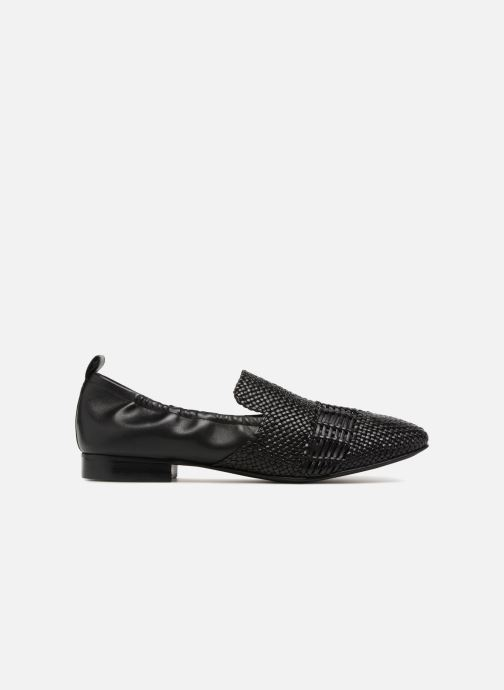 Loafers What For Gabin Black back view