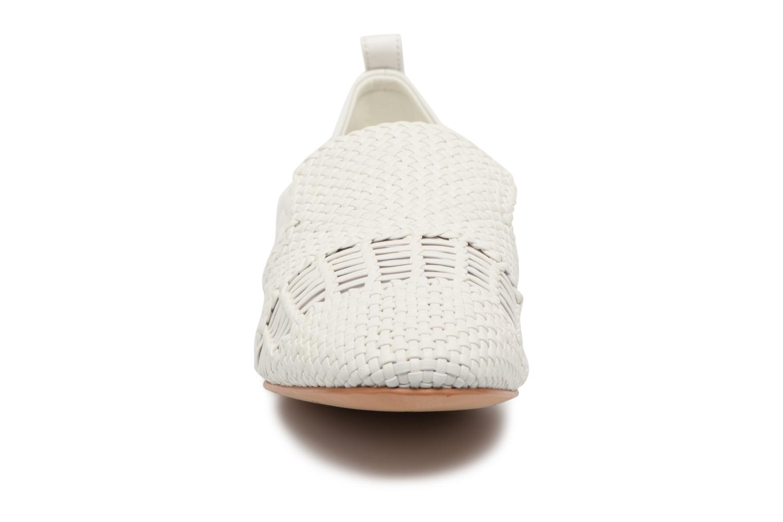 Mocassins What For Gabin Blanc vue portées chaussures