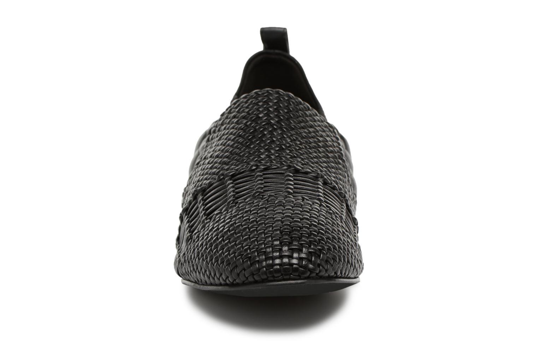 Mocassins What For Gabin Noir vue portées chaussures
