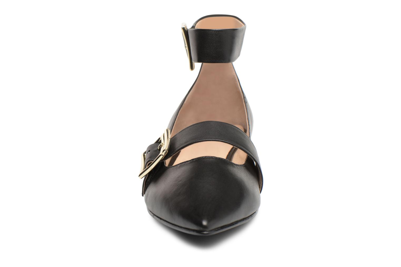 Ballerines What For Maisie Noir vue portées chaussures
