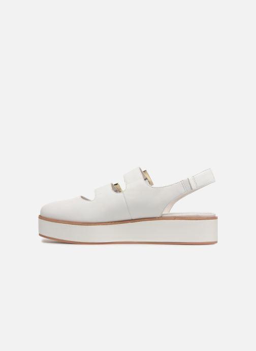 Sandaler What For Besse Hvid se forfra