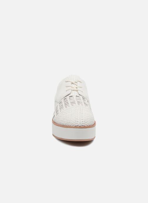 Chaussures à lacets What For Bernie Blanc vue portées chaussures