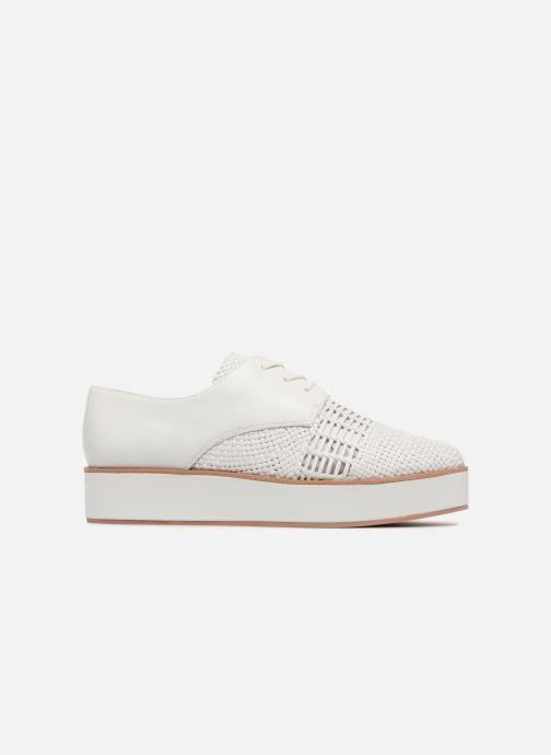 Zapatos con cordones What For Bernie Blanco vistra trasera