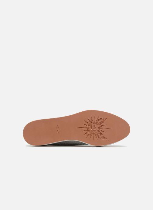Chaussures à lacets What For Bernie Blanc vue haut