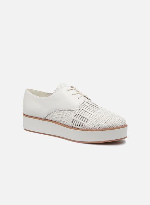 Chaussures à lacets What For Bernie Blanc vue détail/paire