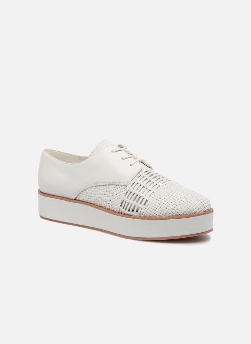 Zapatos con cordones What For Bernie Blanco vista de detalle / par