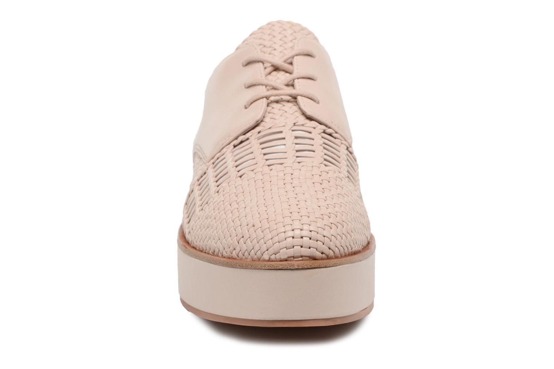 Chaussures à lacets What For Bernie Beige vue portées chaussures