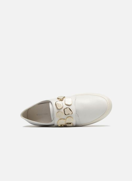 For Auguste White What What Mocassins 80mwPnNvyO