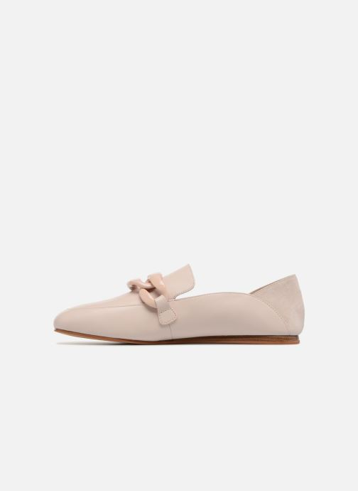 Mocassins What For Marita WF064 Beige voorkant