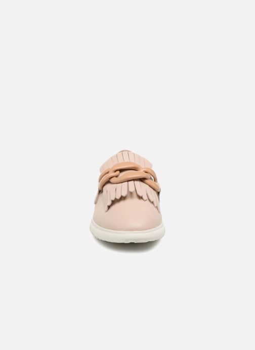 Mocasines What For Sela Beige vista del modelo