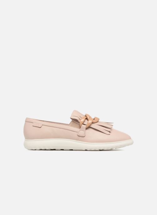 Mocasines What For Sela Beige vistra trasera