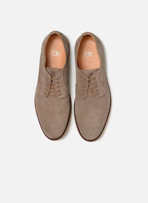 Zapatos con cordones Mr SARENZA Southampton Beige vista del modelo